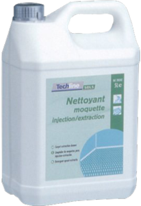 Nettoyant Moquette injection extraction techline 5L